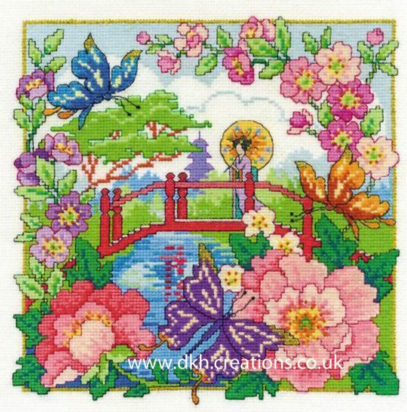 Oriental Landscape Cross Stitch Kit